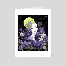 Autumn Equinox - Art Card by Akiko Fukuda
