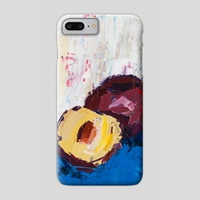 That Plum Looks Good - Phone Case by Eric Buchmann