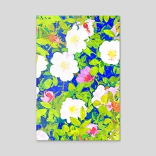 Pop Flowers - Acrylic by 83 Oranges