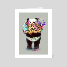 Flowers For You - Art Card by Nicebleed