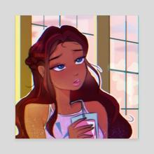 Aisha - Canvas by Theeafnin