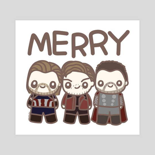 Merry MCU Chrises by mintmintdoodles