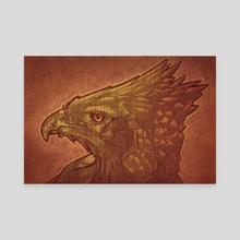 Phoenix - Canvas by Josh Yosurack