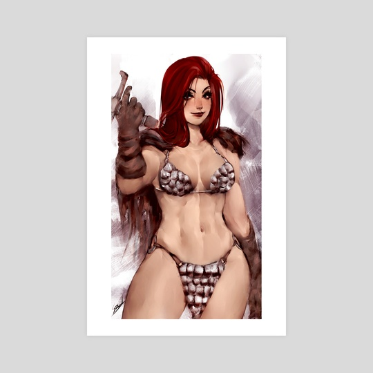 Red Sonja by Stanley Barros