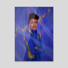 In Space - Acrylic by Oak Antony