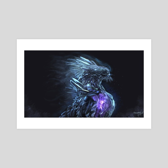 Glacier dragon by Timi Honkanen