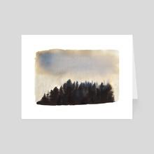Sunrise III - Art Card by Paloma Zamorano