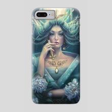 Jade Maiden - Phone Case by Incantata Gallery