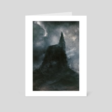 Church - Art Card by Leoncio Harmr