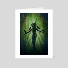 Vengeful - Art Card by Jason Engle