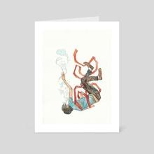 Burdened Offspring - Art Card by Jaime Hernandez