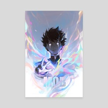 Mob Psycho 100 - Canvas by Viorie