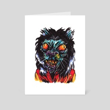 thriller - Art Card by Brandon Lepine