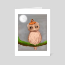 Owl - Art Card by Meagan VanBlaricom