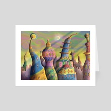 City of Whimsy - Art Card by Kell Kitsch