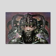 Biomechanical Bust - Silence  - Acrylic by Perspex