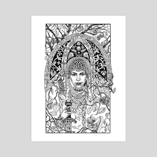 Tsar Maiden by Natalia Mikhalchuk