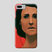 Lady in Red - Phone Case by Chickens Quack