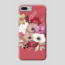 Floral bouquet IV - Phone Case by Anis Illustration