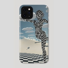 Chess game grace - Phone Case by Bruce Rolff