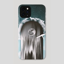 Fly Me to the Moon - Phone Case by saturn.falls