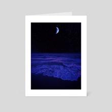 Darkest Night  - Art Card by Anna Yermilov