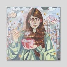 special food - Acrylic by alejandra caballero