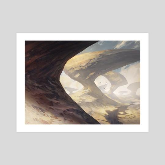Mountain 2 (Khans of Tarkir by Noah Bradley