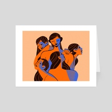 Muses - Art Card by Diana Stoyanova