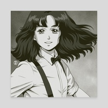 'Plastic Love'. Mariya Takeuchi, The Sweetest Music - Canvas by Jose Salot