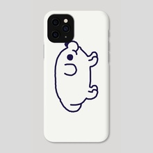 The Perfect Dog (without Golden Spiral) - Phone Case by Tato