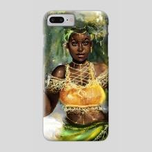 Pineapple girl - Phone Case by Uheada  Agabi