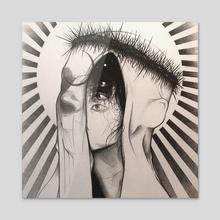 Apollyon - Acrylic by Topher Petsch