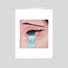 waterfall 2.0. - Art Card by Yogi Fahmi Riandito
