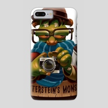 Hipsterstein's Monster - Phone Case by Danilo Fiocco