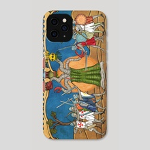 High Towering Monster - Phone Case by Robert Altbauer
