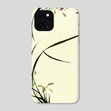 Orchid - 80 - Phone Case by River Han