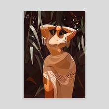 The Jungle - Canvas by Pierre Rutz