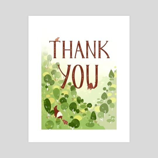 Thank You Tapir by Rachel Lynn