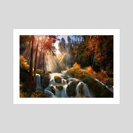 Waterfall Vista by Jason Scheier