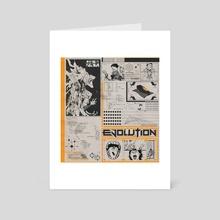 """EVOLUTION"" - Art Card by Cameron Pagano"