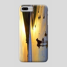 Howe Strand - Phone Case by Michael Walsh
