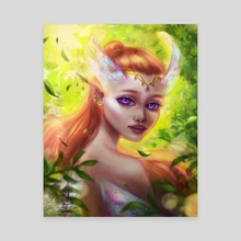 Pixie Analei - Canvas by Cindy Antoinette