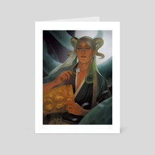 Master of Snakes - Art Card by Erion Makuo