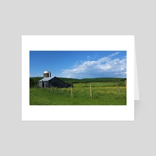 Country Scene - Art Card by Ashley Gedz