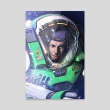 BUZZ  - Acrylic by Dan LuVisi