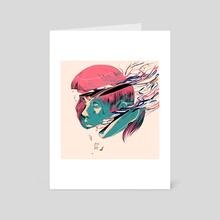 Anxious - Art Card by Alterlier