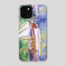 Turkish Cruise - Phone Case by Carl Conway