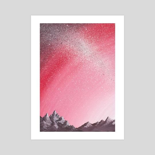 Rosy sky by Alina Leto