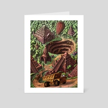 Ancient disaster  - Art Card by Pop Mircea